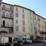 palazzi consorzio piazza del mercato a spoleto ristrutturati da costruzioni zaffini